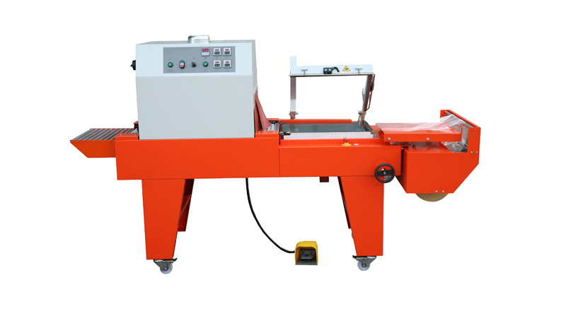 SEMI-AUTOMATIC L-SEALER TO 2 CONVEYORS
