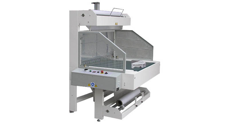 SEMI-AUTOMATIC SLEEVE WRAPPER LINE