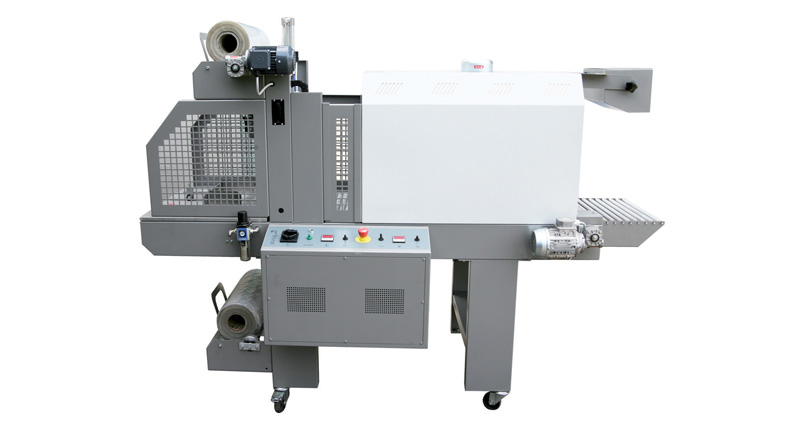 SEMI-AUTOMATIC MONOBLOC SLEEVE WRAPPER LINE